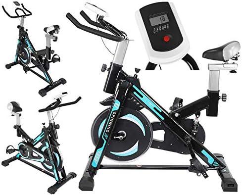 Bicicleta estática MT, con Ordenador de Entrenamiento, Bicicleta ...