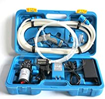 Portable 80W 130PSI High Pressure Car Electric Washer Wash Pump 12V