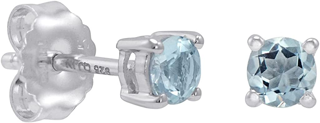 best selling items Handmade silver earrings Aquamarine earrings: March birthstone aquamarine jewelry aquamarine studs gemstone earrings
