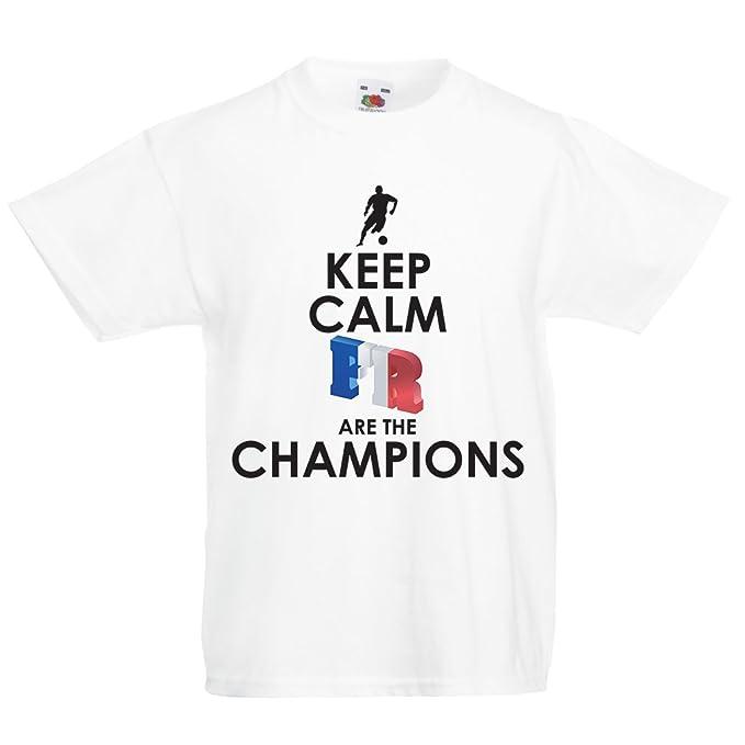 Sono Maglietta Francesi I me Bambiniragazzi Campioni Per Lepni Lj34AR5