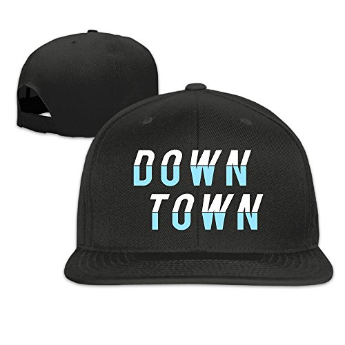 DOWNTOWN Funny Designed Cap Hat Summer Solid Flat Bill Hip Hop Snapback Baseball Cap HAILIN - 14 Moncler