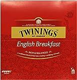 Twinings English Breakfast 200g, 100 Beutel, 1er Pack (1 x 200 g)