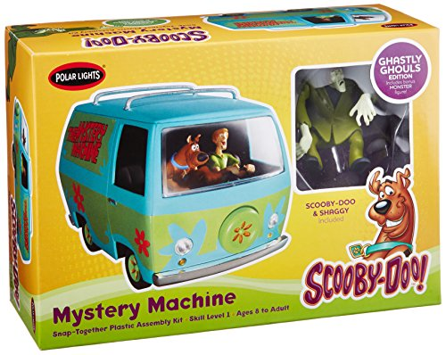 Scooby Doo 1:25 Scale Mystery Machine Van Ghastly Edtion Model Kit