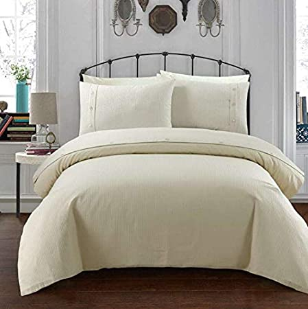Waffle Design Luxurious Stylish Duvet Cover Set Reversible Bedding Sets Pieridae