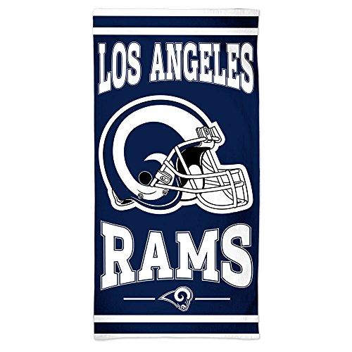 WinCraft NFL Los Angeles Rams Fiber Beach Bath Towel 30 x 60 Inches