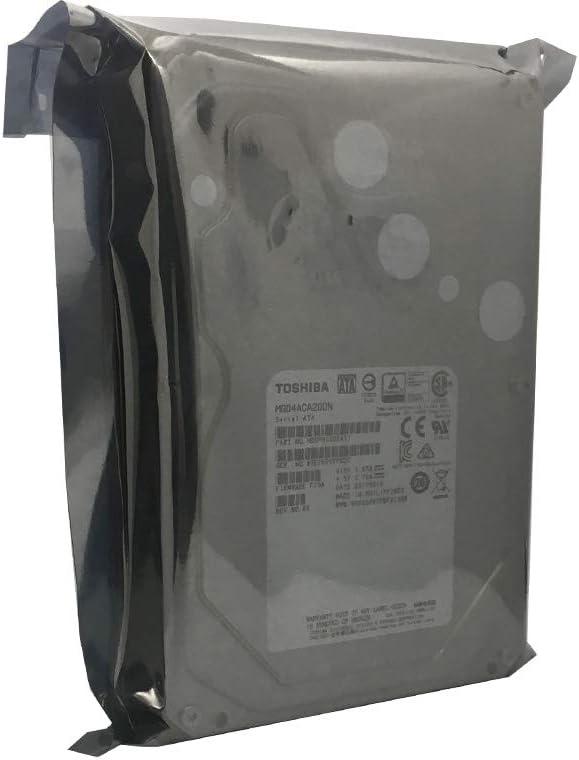 5 Year Warranty Toshiba MG04ACA200N 2TB 64MB Cache 7200RPM SATA III 6.0Gb//s 3.5 Internal Enterprise NAS Hard Drive