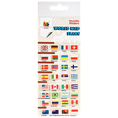 world flag stickers - 9
