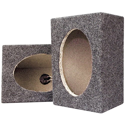(Pyramid PMB69MT 6 x 9 Carpeted Wood Speaker Cabinets Pair Car Accessories)