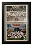 Encore Select 120-12 MLB Chicago White Sox Double Frame 1917 and 2005 Champions Print, 12-Inch by 18-Inch