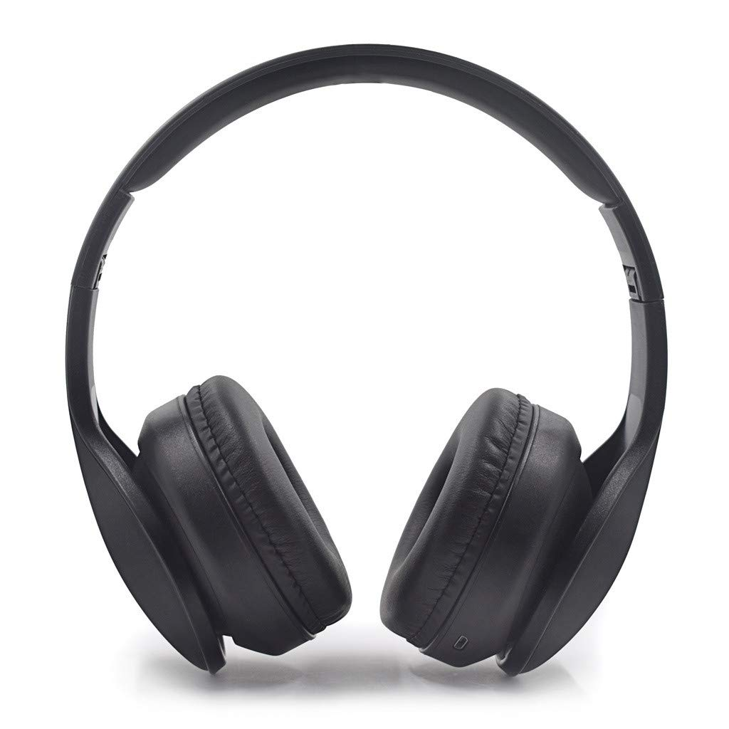 BOOMdan Noise Cancelling Wireless Bluetooth Headphones, Over Ear and Foldable, Hi-Fi Stereo Mic Foldable Headset, 8-Hour Playtime, Deep Bass