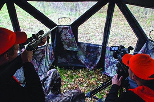 Barronett Blinds PT550BW Pentagon Pop Up Portable Hunting Blind, Bloodtrail Backwoods Camo by Barronett Blinds (Image #4)