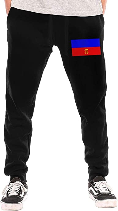 Mens Gay Love Rainbow Heart Gay/&Lesbian Pride Casual Cotton Jogger Pants,Running Beam Trousers