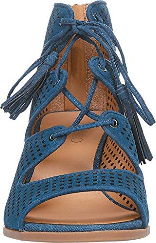 Franco Sarto Dames Honolulu Hakken Sandaal Lapis Blauw