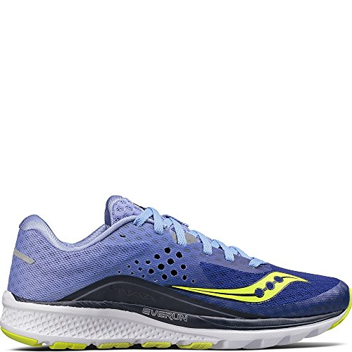 Cheap Saucony Women's Kinvara 8 Running Shoe, Navy Purple, 6 Medium US