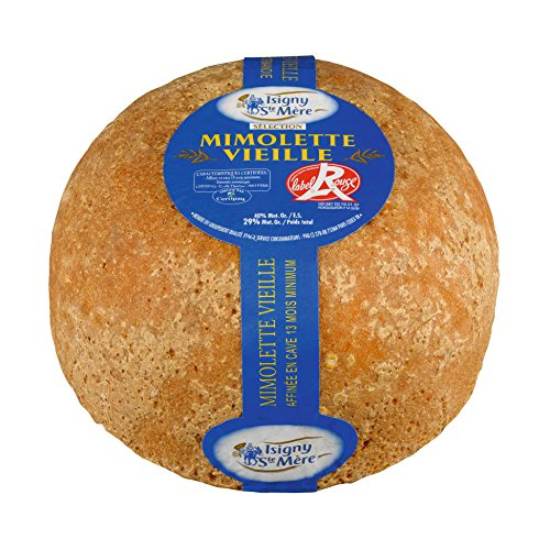 French Cheese Mimolette Vieille, 12 Months - 6.6 Lbs by Isigny (Image #4)