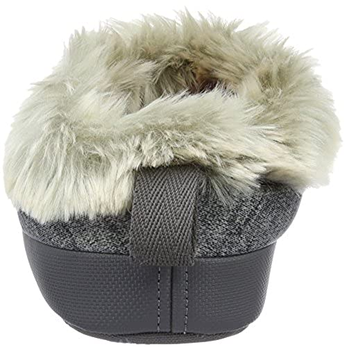 15ce98f4207d The North Face NSE Tent Mule Faux Fur II Ladies Slipper XS Heather Grey  Luminous