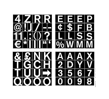 aa23c3524ba5 Amazon.com : MasterVision Set of Letters, Numbers and Symbols ...