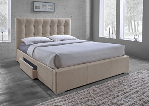 Baxton Studio Contemporary Grid Tufted Upholstered