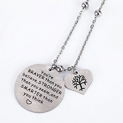 Buy you are stronger than you think necklace