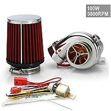 New Motor Electrical Turbocharge Electric Turbocharger Kit 100W 9800RPM for Pit Pro / Tumpstar / Atv Quad Bike 125cc/500cc