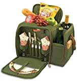 Malibu All-Inclusive Deluxe Picnic Basket For Two