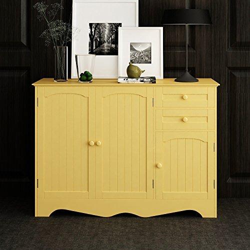 Home-Like Wood Storage Cabinet Kitchen Buffet Kitchen