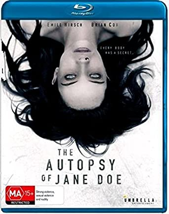 Autopsy Of Jane Doe Aussie Only Special Features USA Blu-ray: Amazon.es: Cine y Series TV