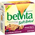 Belvita Soft Baked Breakfast Biscuits, Mixed Berry, 8.8 Ounce (Pack of 6) from Belvita