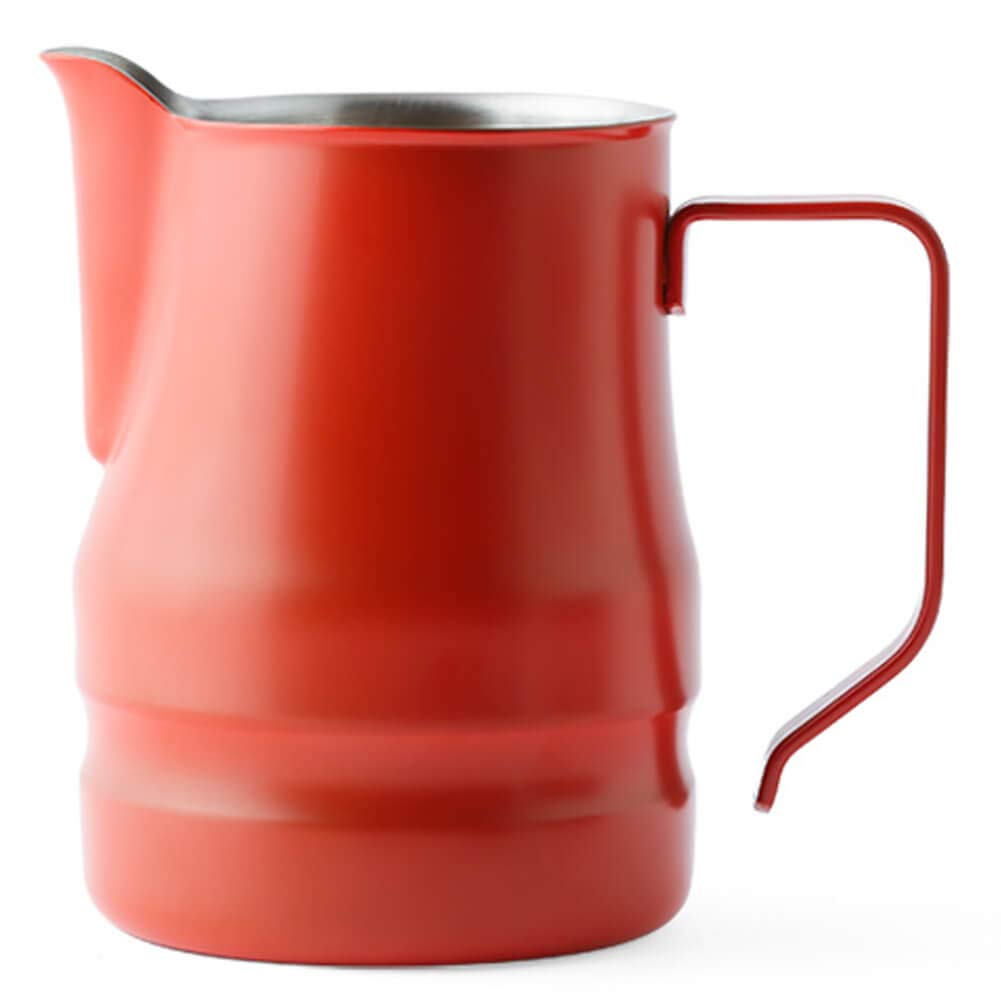Ilsa Evolution Milk Frothing Pitcher Professional Latte Art Milk Steaming Jug Stainless Steel, Red, Set of 3 by Ilsa (Image #2)