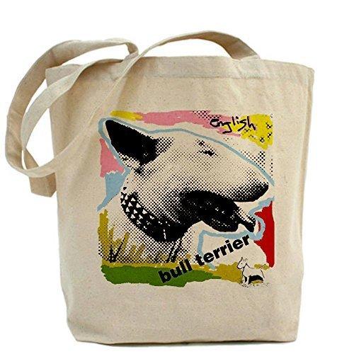 Diseño único CafePress Inglés Bull Terrier Punk bolso–estándar por CafePress