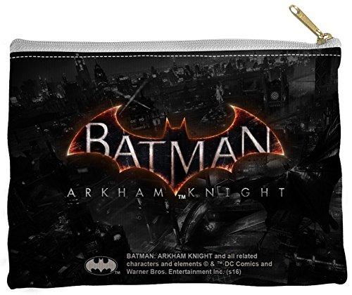 Price comparison product image Batman Arkham Knight - Ak Logo Zipper Pouch 9 x 6in