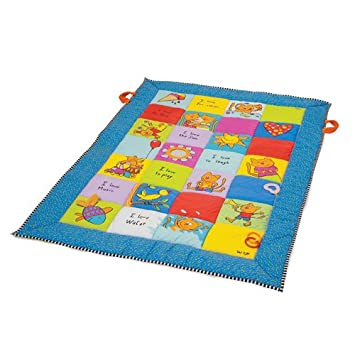 Taf Toys Baby Play Mat Plenty Of Room To Play, Lot Of Fun For Baby, Extra Fine Fibre Padding, Animal Illustrations To Attract Baby s Attention, Easier Development And Easier Parenting