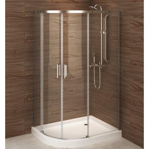 A & E baño y ducha Madrid izquierda deslizante ducha almacenaje ...