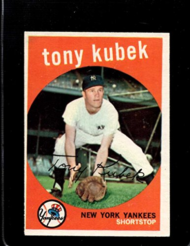 1959 TOPPS #505 TONY KUBEK VGEX YANKEES *A24842