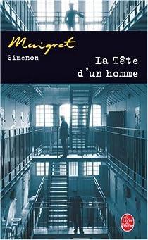 La tête d'un homme par Simenon