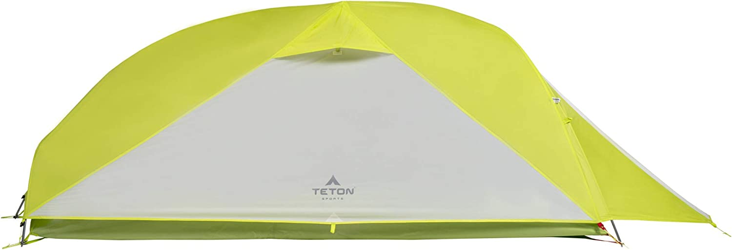 TETON Sports ALTOS Tent 1-2 Person Backpacking Tent Includes Footprint and Rainfly Quick and Easy Setup Ready in an Instant When You Need to Get Outdoors Clip-On Rainfly Included
