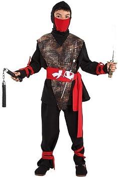 Disfraces FCR - Disfraz samurai ninja talla 12 años: Amazon.es ...