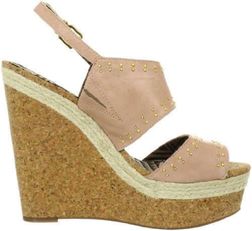 Simpson Jessica Luxury Women's Nappa Pale Wedge Sandal Geno Pink UwZp7q