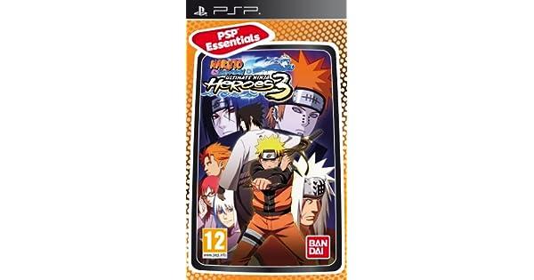 Naruto Shippuden: Ultimate Ninja Heroes 3 - Essentials (PSP ...
