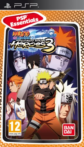 Naruto Shippuden: Ultimate Ninja Heroes 3 - Essentials (PSP) (UK)