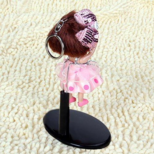 Negra Ajustable Soporte De Pantalla Soporte de la muñeca 10-13cm para la muñeca Accesorio