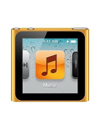 apple ipod nano 8gb orange 6th generation rh amazon co uk