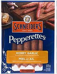 Schneiders Pepperettes Sausage Sticks, Honey Garlic, 375 Grams