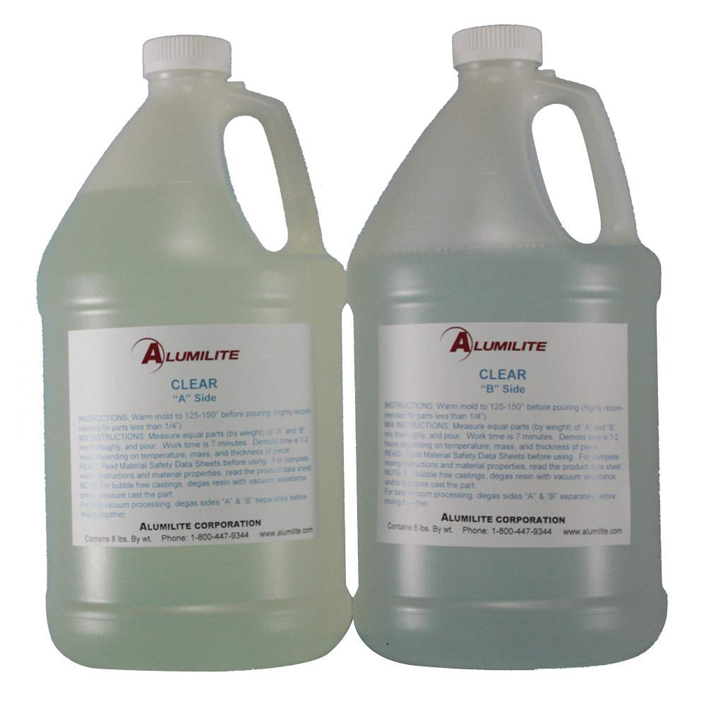 Alumilite Clear Urethane Casting Resin (2 Gallon) by Pen Kit Mall (Image #1)