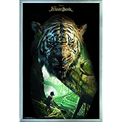 """Trends International the Jungle Book-Shere Khan Wall Poster, 24.25"""" x 35.75"""", Multicolor"""