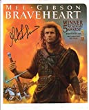 Mel Gibson Signed Autographed Braveheart Awards 8 x 10 Color Photo
