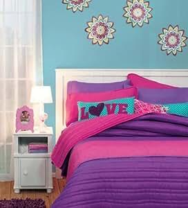 Amazon.com: Special Collection ' Basic Frambuesa' Reversible Comforter
