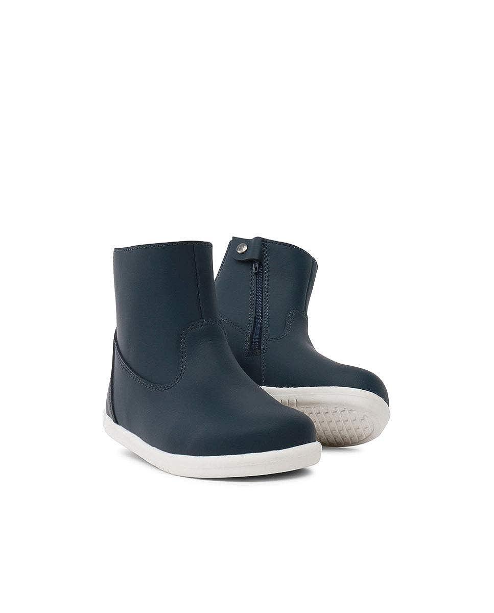Suola Flessibile e Resistente Chiusura a Zip Fodera in Lana Merino IW Paddington Waterproof Boot Navy /è Una Scarpa in Pelle Traspirante Membrana Interna Resistente allAcqua
