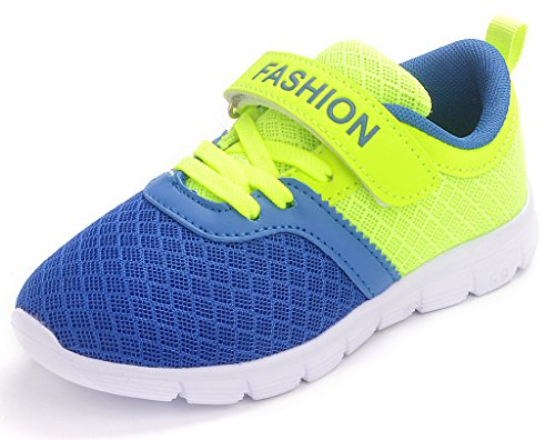 Baby Toddler Sneakers Boy Girl Mesh Sports Shoes (Green) - 7
