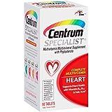 Centrum Specialist Heart Complete Multivitamin Supplement (60-Count Tablets)